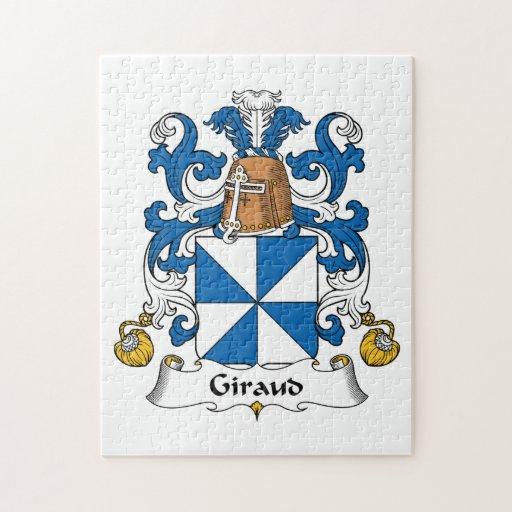 Escudo de la familia de Giraud Rompecabezas Con Fotos