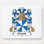 Escudo de la familia de Giraud Alfombrilla De Raton