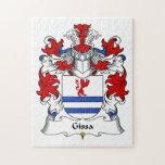 Escudo de la familia de Gissa Rompecabezas