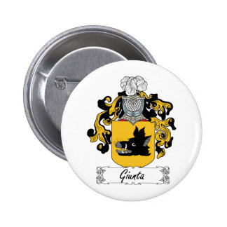 Escudo de la familia de Giunta Pin Redondo De 2 Pulgadas