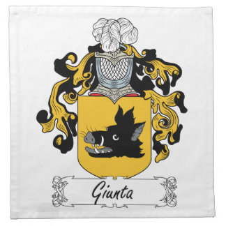 Escudo de la familia de Giunta Servilleta Imprimida