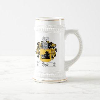 Escudo de la familia de Giunta Tazas De Café