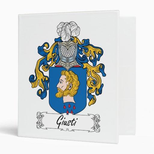 """Escudo de la familia de Giusti Carpeta 1"""""""