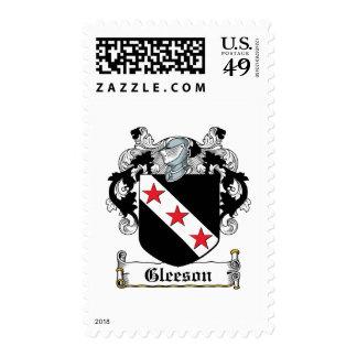 Escudo de la familia de Gleeson Sello