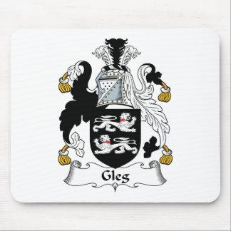Escudo de la familia de Gleg Mouse Pads