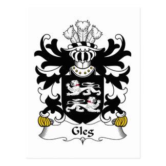 Escudo de la familia de Gleg Postal