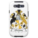 Escudo de la familia de Glenane Samsung Galaxy SIII Funda