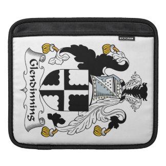 Escudo de la familia de Glendinning Fundas Para iPads