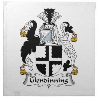 Escudo de la familia de Glendinning Servilletas De Papel