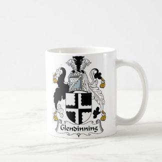 Escudo de la familia de Glendinning Taza