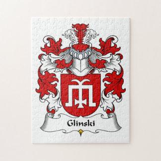 Escudo de la familia de Glinski Puzzle Con Fotos