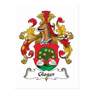 Escudo de la familia de Gloger Postal