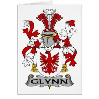 Escudo de la familia de Glynn Felicitacion