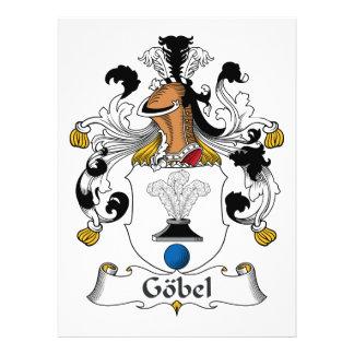 Escudo de la familia de Gobel Invitaciones Personales