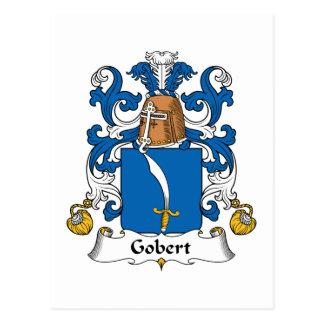 Escudo de la familia de Gobert Tarjetas Postales