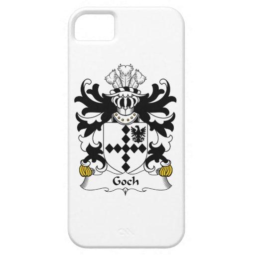 Escudo de la familia de Goch iPhone 5 Protectores
