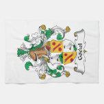 Escudo de la familia de Gockel Toalla De Mano