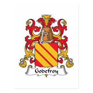 Escudo de la familia de Godefroy Tarjetas Postales