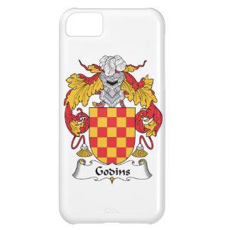 Escudo de la familia de Godins Funda Para iPhone 5C