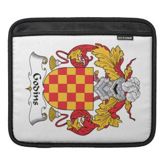 Escudo de la familia de Godins Fundas Para iPads