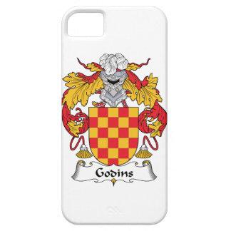 Escudo de la familia de Godins iPhone 5 Carcasa