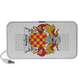 Escudo de la familia de Godins iPod Altavoces