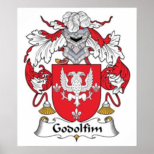 Escudo de la familia de Godolfim Impresiones