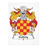 Escudo de la familia de Godoy Invitaciones Personales