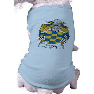 Escudo de la familia de Godoy Playera Sin Mangas Para Perro