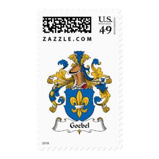 Escudo de la familia de Goebel Franqueo