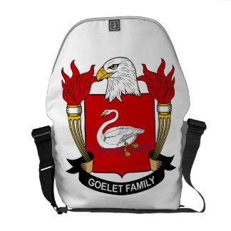 Escudo de la familia de Goelet Bolsa De Mensajeria