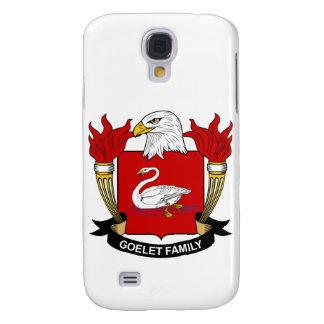 Escudo de la familia de Goelet Funda Para Galaxy S4