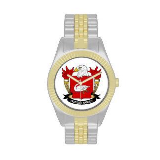Escudo de la familia de Goelet Reloj