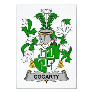 """Escudo de la familia de Gogarty Invitación 5"""" X 7"""""""