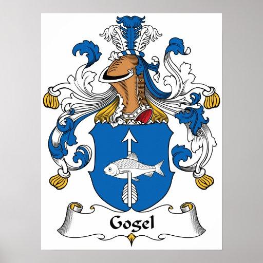 Escudo de la familia de Gogel Poster