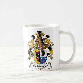 Escudo de la familia de Goldberger Tazas De Café