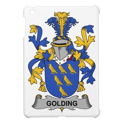 Escudo de la familia de Golding iPad Mini Coberturas