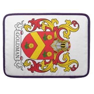 Escudo de la familia de Goldman Fundas Para Macbooks