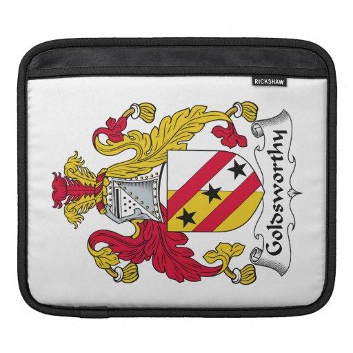 Escudo de la familia de Goldsworthy Funda Para iPads