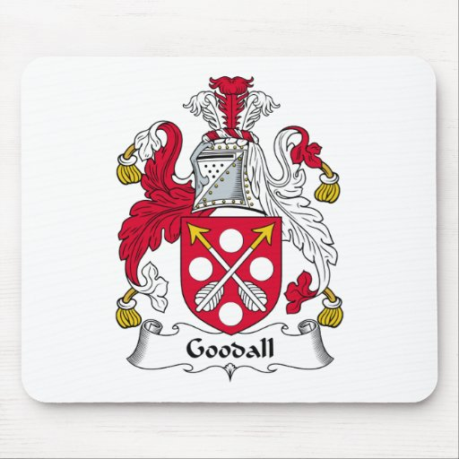 Escudo de la familia de Goodall Mousepad