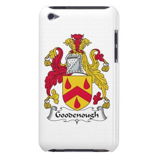 Escudo de la familia de Goodenough iPod Case-Mate Protector
