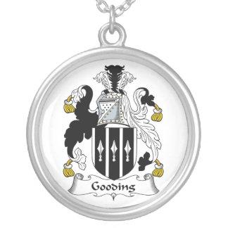 Escudo de la familia de Gooding Colgante Redondo