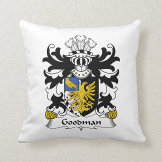 Escudo de la familia de Goodman Cojines