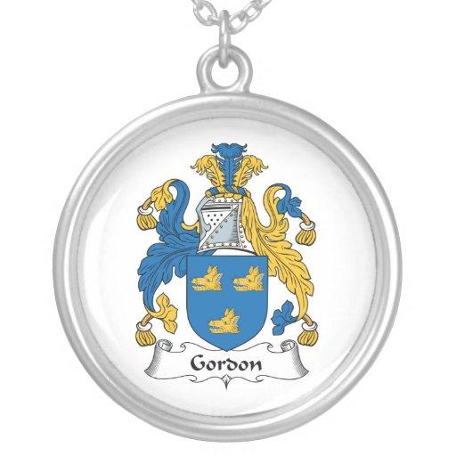 Escudo de la familia de Gordon Colgante Redondo