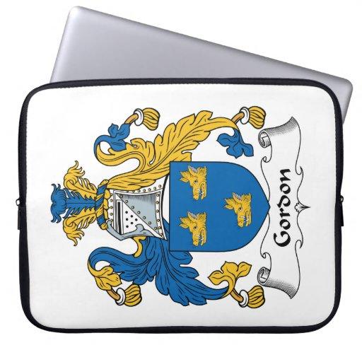 Escudo de la familia de Gordon Mangas Portátiles