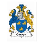 Escudo de la familia de Gordon Postal