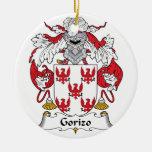 Escudo de la familia de Gorizo Ornamente De Reyes