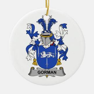 Escudo de la familia de Gorman Ornato