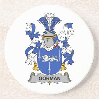 Escudo de la familia de Gorman Posavasos Personalizados