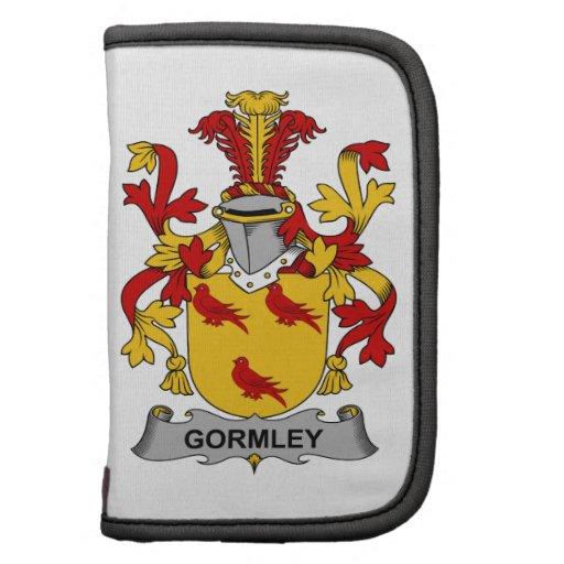 Escudo de la familia de Gormley Planificador